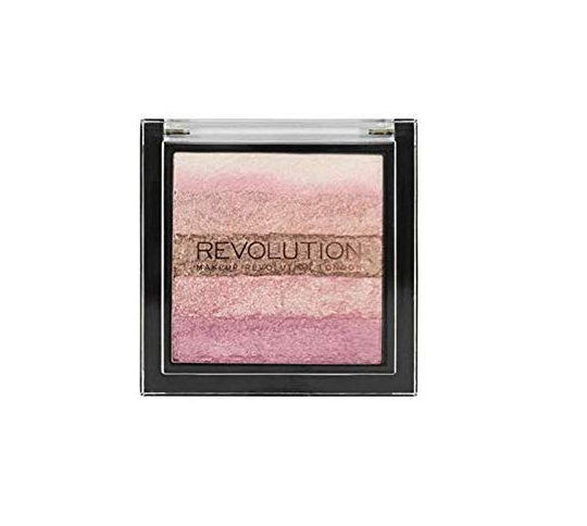 Makeup Revolution Shimmer Brick Review livingflawless.com