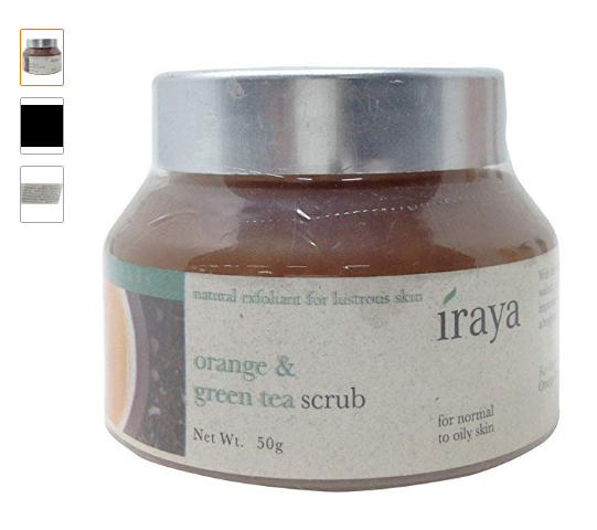 Iraya Orange and Green Tea Scrub Review