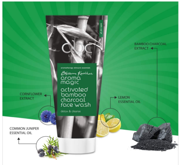 Aroma Magic Activated Bamboo Charcoal Face Wash Review