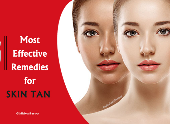 10 Most Effective Tan Removal Remedies You Need To Know