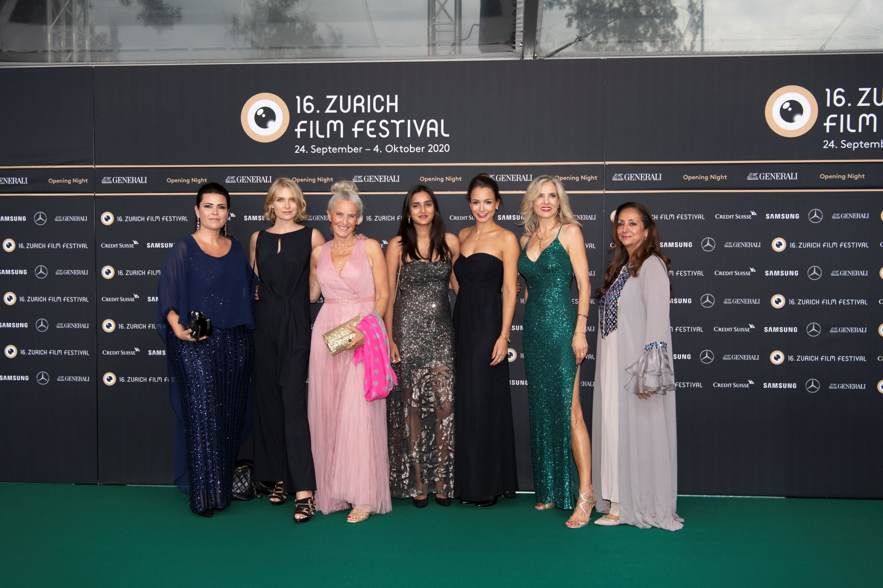 Fashion & Celebrities at the 16th Zurich Film Festival 2020 LivingFlawless.com