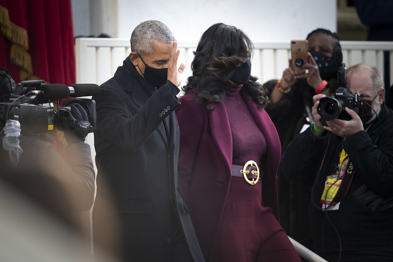 Gorgeous Coats At Biden's Inauguration (59th Presidential Inauguration) 4