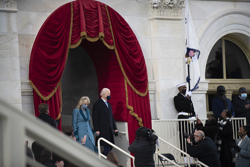 Gorgeous Coats At Biden's Inauguration (59th Presidential Inauguration) 6