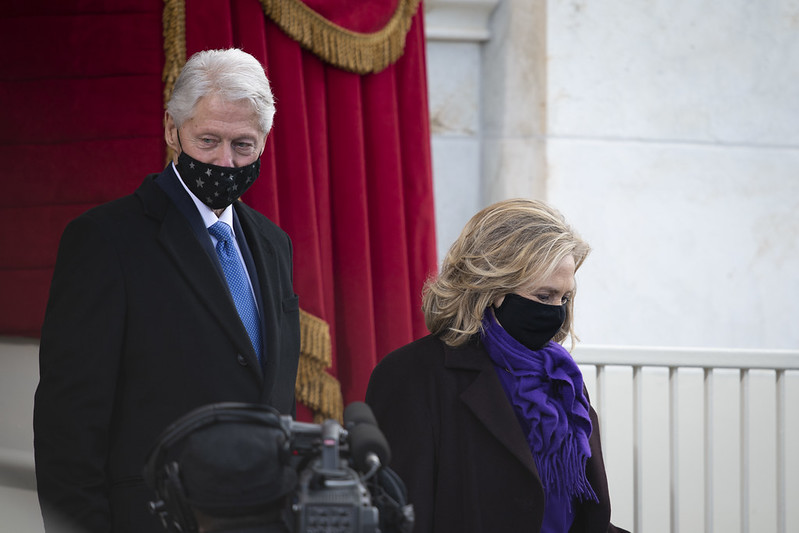 Gorgeous Coats At Biden's Inauguration (59th Presidential Inauguration) 7
